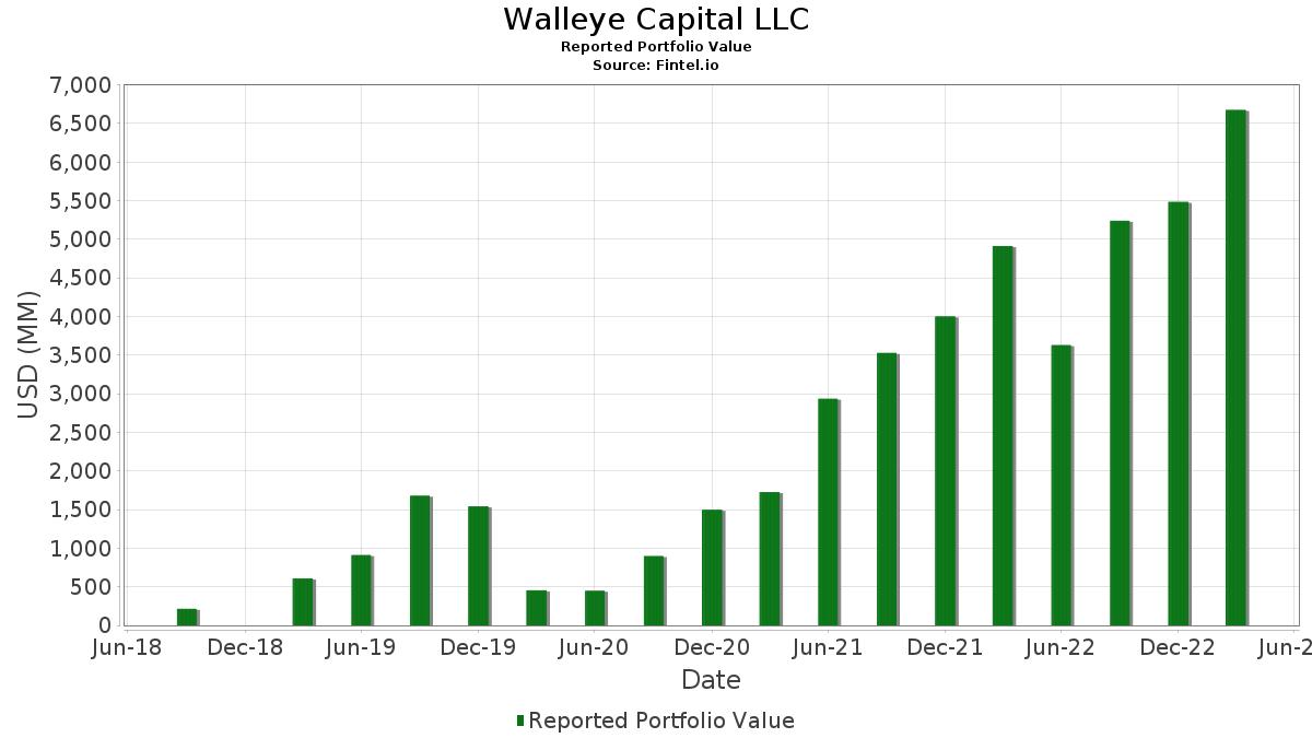 Walleye capital aum